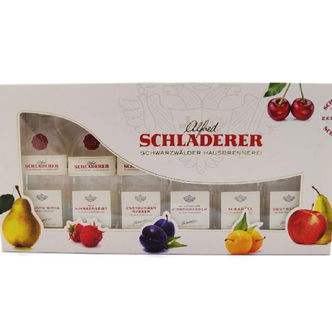 SCHNAPPS-SCHLADERER-SET